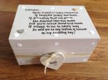 Shabby Personalised Chic Gift Will You Be My Maid Or Matron Of Honour? Box